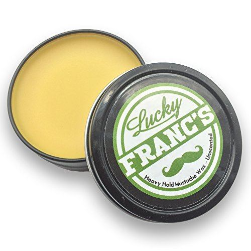 Mustache Wax. LARGE 2oz. Size Strong Hold Unscented