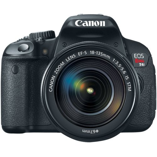 Best Prices! Canon EOS Rebel T4i 18.0 MP CMOS Digital Camera with 18-135mm EF-S IS STM Lens