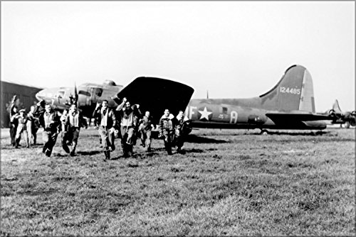 Crew Of The Memphis Belle B-17 Flying Fortress Back From Its 25Th Operational Mission Poster