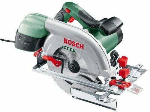 Bosch-DIY-Kreissge-PKS-66-AF-1-Hartmetallsgeblatt-Speedline-Wood-Parallelanschlag-Fhrungsschiene-Karton-1600-W-Schnitttiefenbereich-bei-90-0-66-mm-Kreissgeblatt-Nenn--190-mm