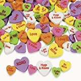 500 CONVERSATION HEART Foam BEADS/VALENTINES Day CRAFT/ACTIVITY/Art/LOVE/Valentine