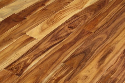 Asian Walnut Acacia Blonde Solid Prefinished Hardwood Wood