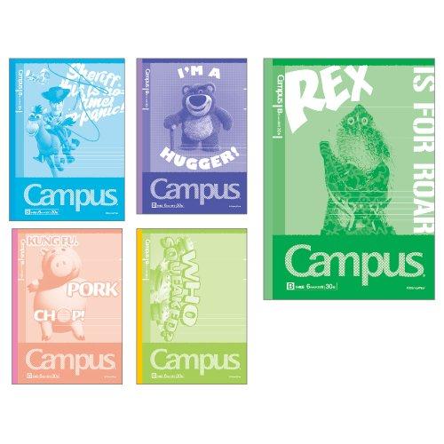 サンスター キャンパスノートB罫5冊パック DCトイストーリー S2617609