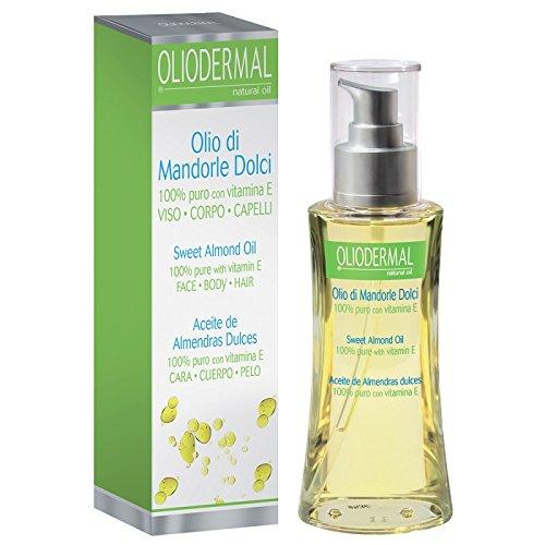 Oliodermal Olio di Mandorle Dolci per viso corpo e capelli 100ml