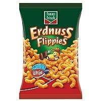 Funny-Frisch Flippies Classic Erdnussflips (Peanut Puffs) 250g