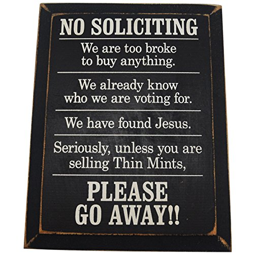 No-Soliciting-We-Are-Too-Broke-To-Buy-Anything-Wood-Sign-for-Home-Dcor-PERFECT-HOUSEWARMING-GIFT