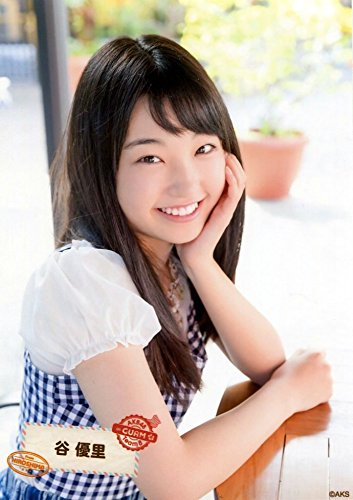 【谷優里】 公式生写真 AKB48 チーム8 in グアム ランダム生写真