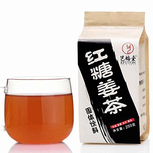 Brown Sugar And Ginger Tea Bags 250G Efuton Chinese Natural Organic Flora Herbal Tea Convenient