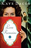 Love Remains (The Matchmakers)