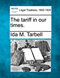 The tariff in our times.