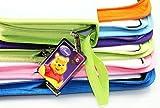 Viproo® - Disney Winnie The Pooh Series Nylon 80 Capacity CD/DVD/VCD Wallet Album Carrying Storage Case CD Bag Holder(Pink)