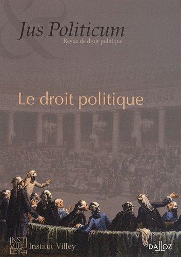 Jus Politicum, N° 1, 2009 : Le droit politique