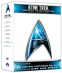 Star Trek: Original Motion Picture Collection (Star Trek I, II, III, IV, V, VI + The Captain\'s Summit Bonus Disc)