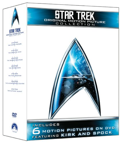Cover art for  Star Trek: Original Motion Picture Collection (Star Trek I, II, III, IV, V, VI + The Captain's Summit Bonus Disc)
