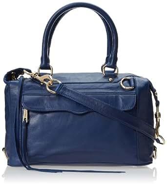 Rebecca Minkoff Mab Mini Satchel Bag,Navy,One Size