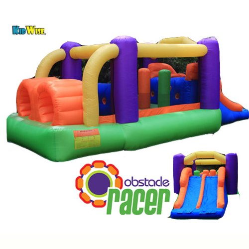 Kidwise Obstacle Racer Bounce House front-324963