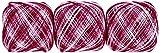 オリムパス製絲 金票40番 レース糸 ボカシ 10g 89m col.12 3玉セット