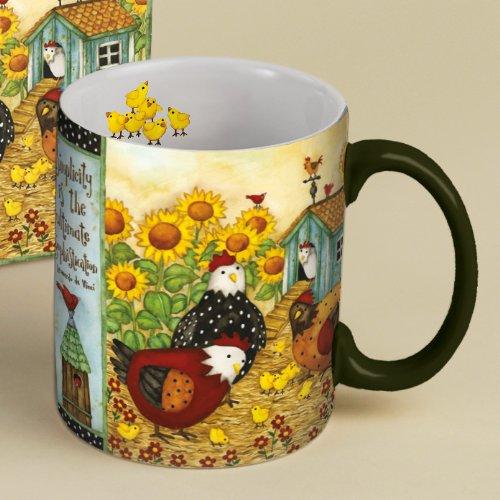 Lang Chicken Coop Coffee Mug 14Oz