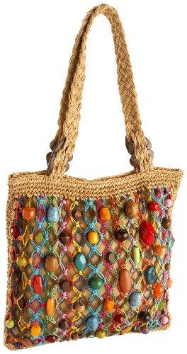 Cappelli BA2113 Crochet Toyo,Tan,one size