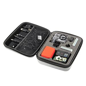 GoPro Case GoPro POV Case for GoPro HERO 1/2/3 Cameras Grey