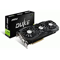 MSI GeForce GTX 1080 Ti DirectX 12 GTX 11GB 352-Bit GDDR5X PCI Express 3.0 Video Card + DINO HDMI to VGA Dongle