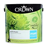 Crown Breatheasy Emulsion Paint - Matt - Soft Khaki - 2.5L