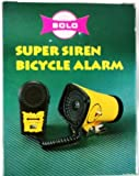Sunlite Super Siren Bicycle Alarm, 3 Sounds, with Microphone