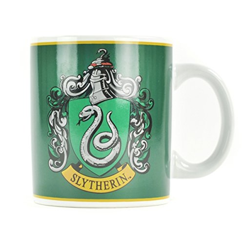 Harry Potter Slytherin Crest Badge House Snake Gift Boxed Coffee Mug Official