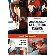 Aprende a tocar la guitarra clásica + DVD