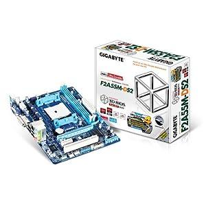 Gigabyte GA-F2A55M-DS2 Carte mère AMD Micro ATX Socket FM2