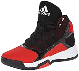 adidas Performance Men\'s Amplify Basketball Shoe, Red/Black/White, 15 M US