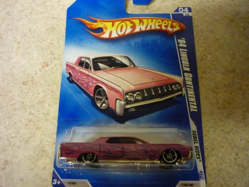 2009 Hot Wheels 64' LINCOLN CONTINENTAL #04/10- MINT IN BOX