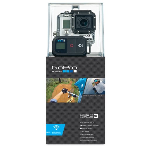 Helmkamera GoPro Cam HERO3 Black Edition Adventure