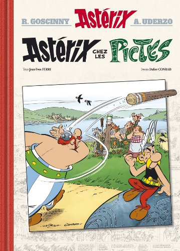 Asterix Chez Les Pictes - N35: Version Luxe (French Edition)