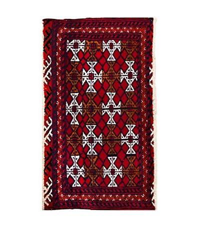 RugSense Alfombra Persian Kalat Rojo/Azul/Multicolor 90 x 56 cm