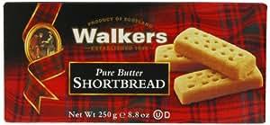 Walkers Shortbread Fingers 250 g (Pack of 6)