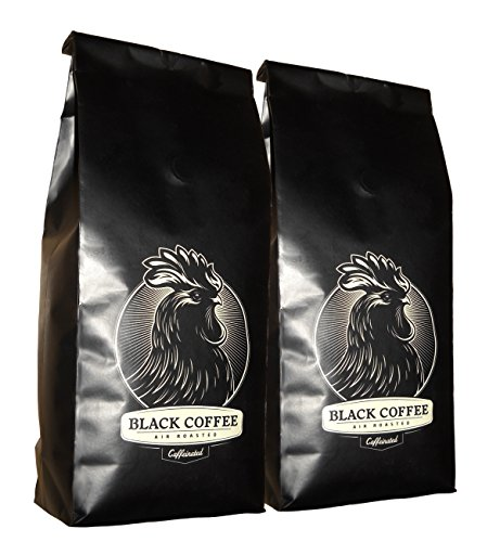 Black Coffee La - Medium (2-Pack) - 12Oz Bag Of Whole Bean Coffee - Los Angeles, California - Air Roasters