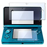 Everydaysource® 2-in-1 Clear Reusable Screen Protector LCD Film Cover Compatible With Nintendo 3DS