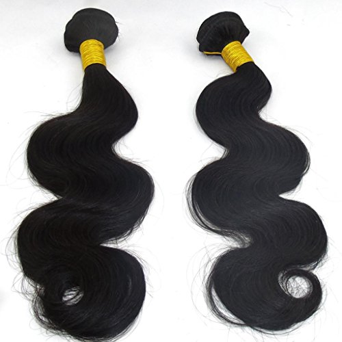 LaNova-Beauty-Best-Human-Hair-ExtensionsMix-Size2pcs-10-28inchBody-WaveNatural-Color2pcslot100gpc