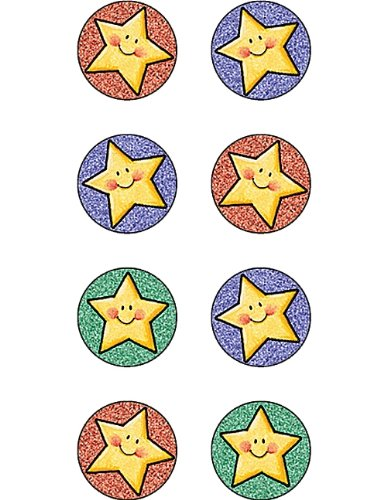 Teacher Created Resources Happy Stars Mini Stickers from Mary Engelbreit, Multi Color (4246)