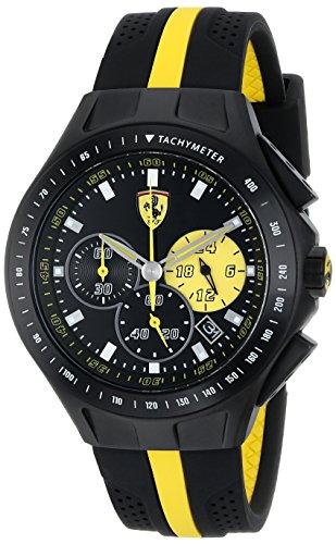 Ferrari De los hombres Analógico Dress Cuarzo Reloj NWT 0830025