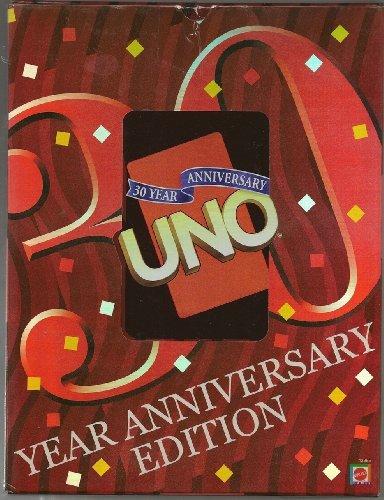 UNO 30 Year Anniversary Edition in Anniversary Storage Case by UNO