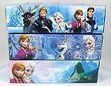 3 Pk, Disney Frozen 2-Ply Sofitelle White Facial Tissues, 130 Ct - 3 Designs