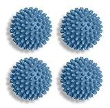 Dryer Balls Set of 4 - 3 Inch Non-Toxic Reusable Dryer Balls