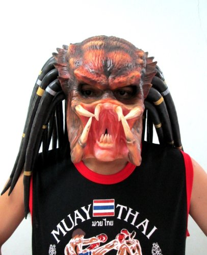 Goodwill Shop Predator Replica Mask Helmet Cosplay Costume