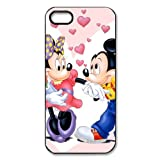 Walt Disney Mickey and Minnie Mouse Iphone 5 5s Plastic Durable Protective Case