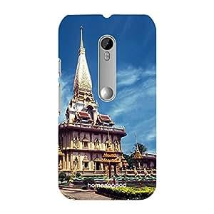 HomeSoGood Temple In Phuket Multicolor 3D Mobile Case For Moto G 3rd Gen (Back Cover)
