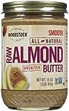 Woodstock Raw Almond Butter, 16 oz
