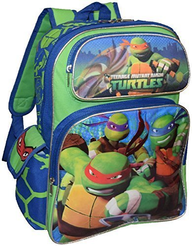 Ninja Turtles Deluxe 3D Embossed Backpack