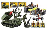 Character Building H.M. Armed Forces Army Infantry and Artillery Mega Set